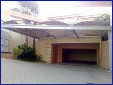 Carport Barrel Vault